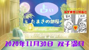 天海玉紀 たまきの占い部屋「双子満月」スペシャルコラボ配信 @ ツイキャスライブ